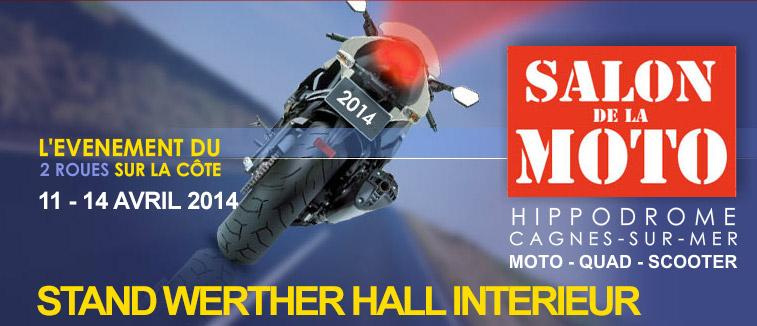 Salon de la moto et du scooter 2014 de cagnes sur mer honda werther nice - Salon moto cagnes sur mer ...
