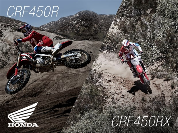 17YM CRF450R and CRF450RX