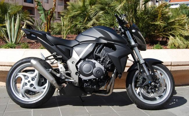 Honda CB1000R Dark Black
