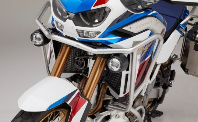 20YM Africa Twin Adventure Sports Front Side Pipe